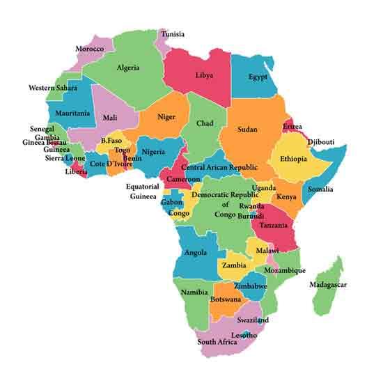 Afrikanische länder